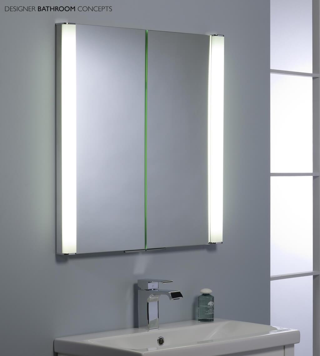 Bathroom Mirror Cupboard With Lights