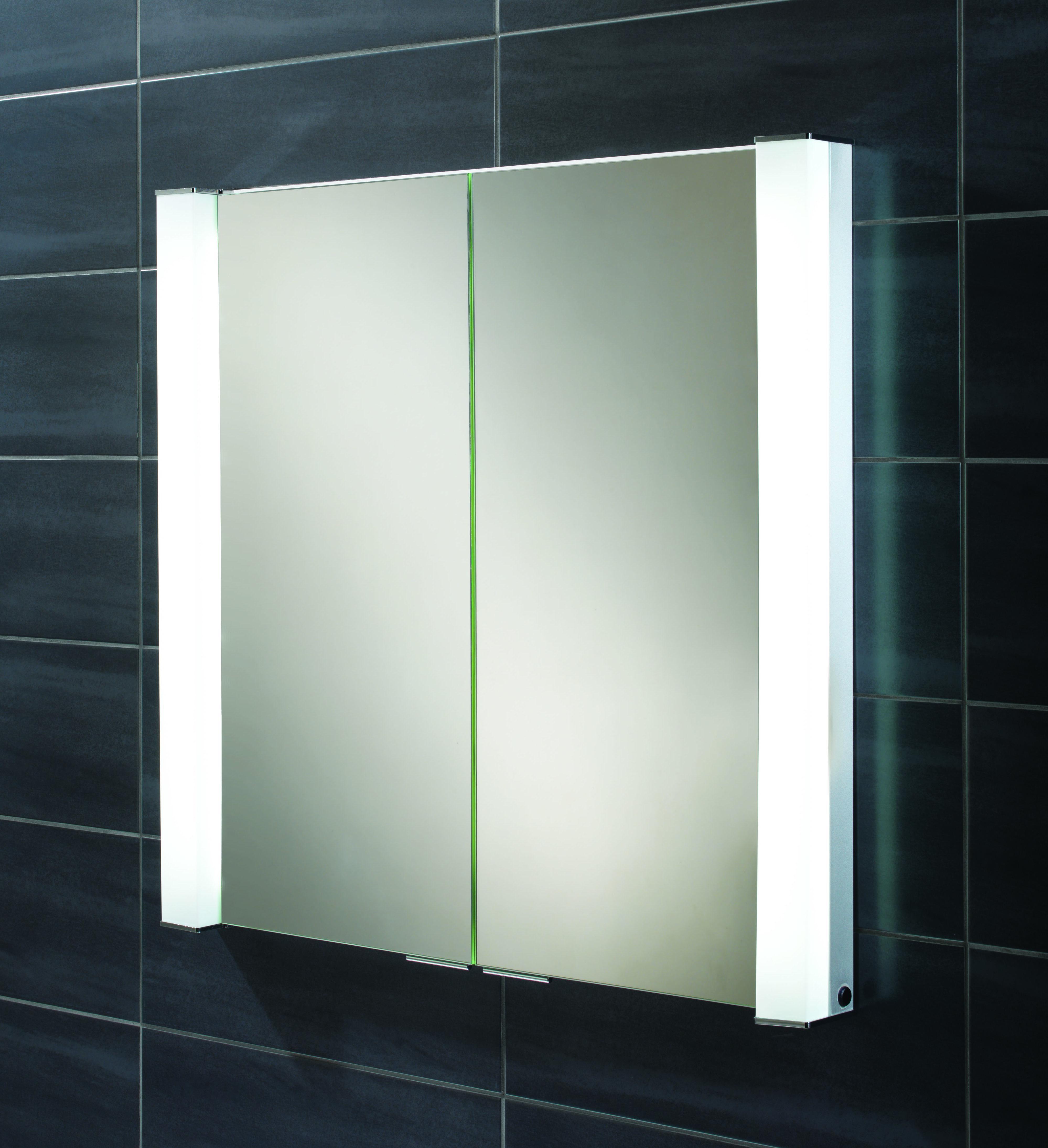 Bathroom Mirror Door Cabinet