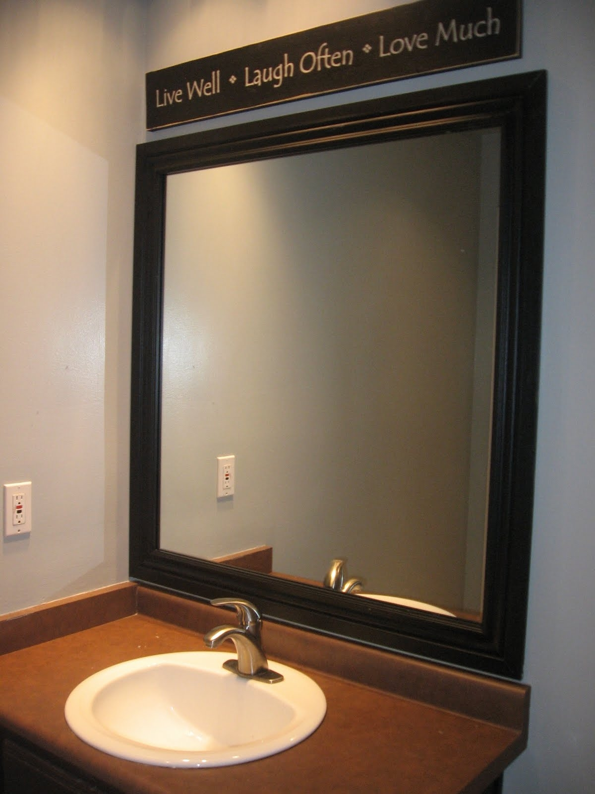 Bathroom Mirror Frame Material