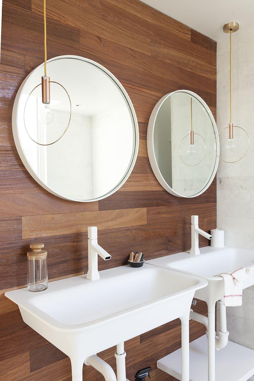 Bathroom Mirror Round Light