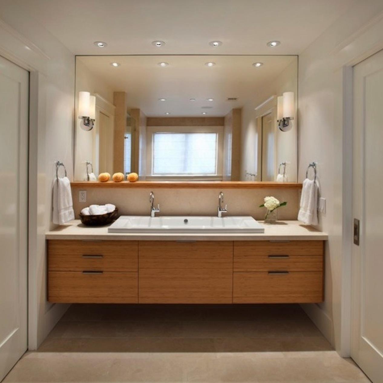 Bathroom Mirror Sconce Height