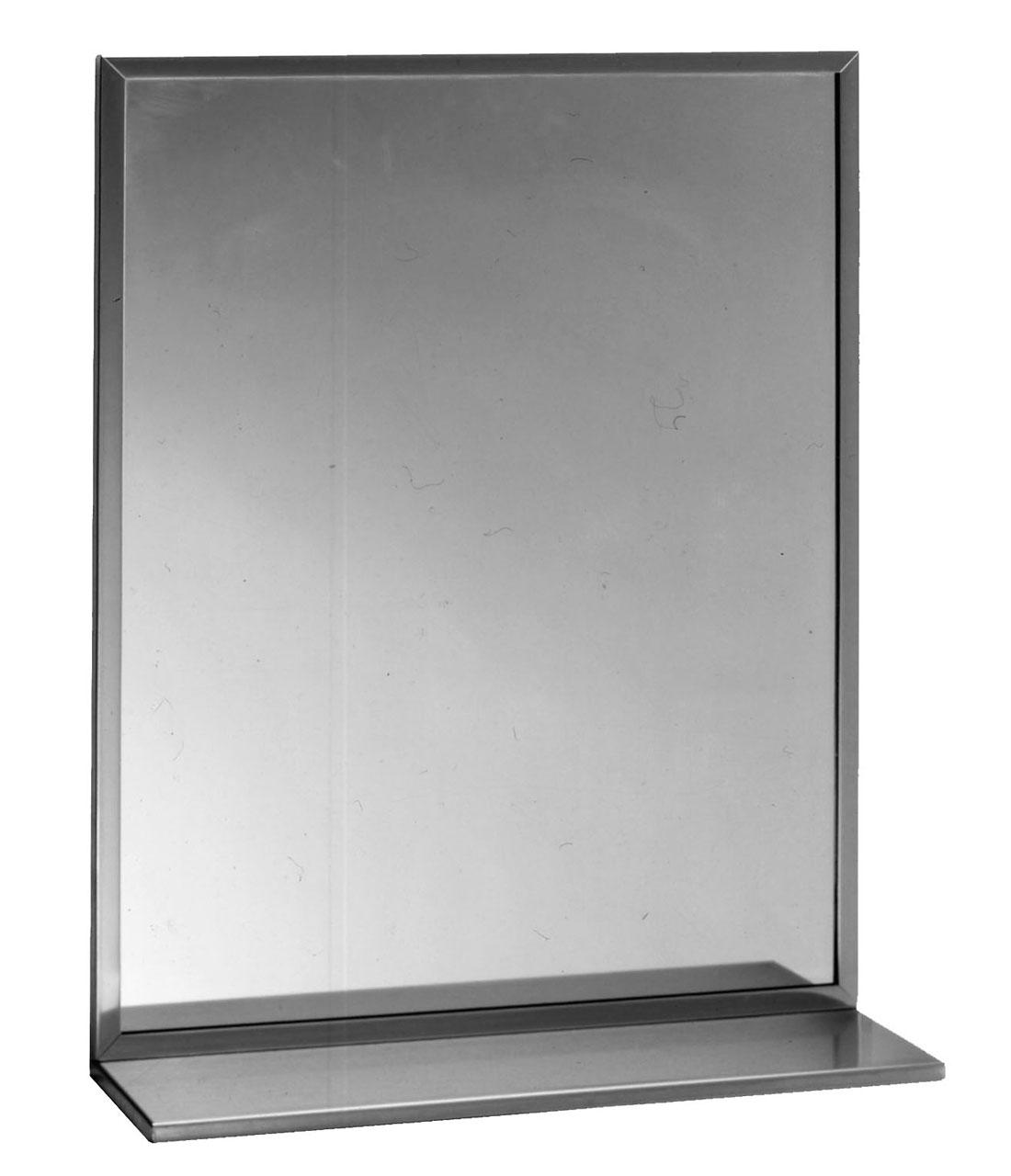 Bathroom Mirror Shelf Combo