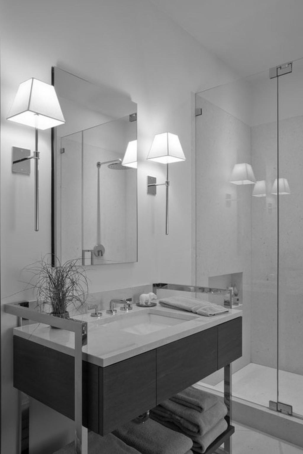 Permalink to Bathroom Mirror Wall Sconces