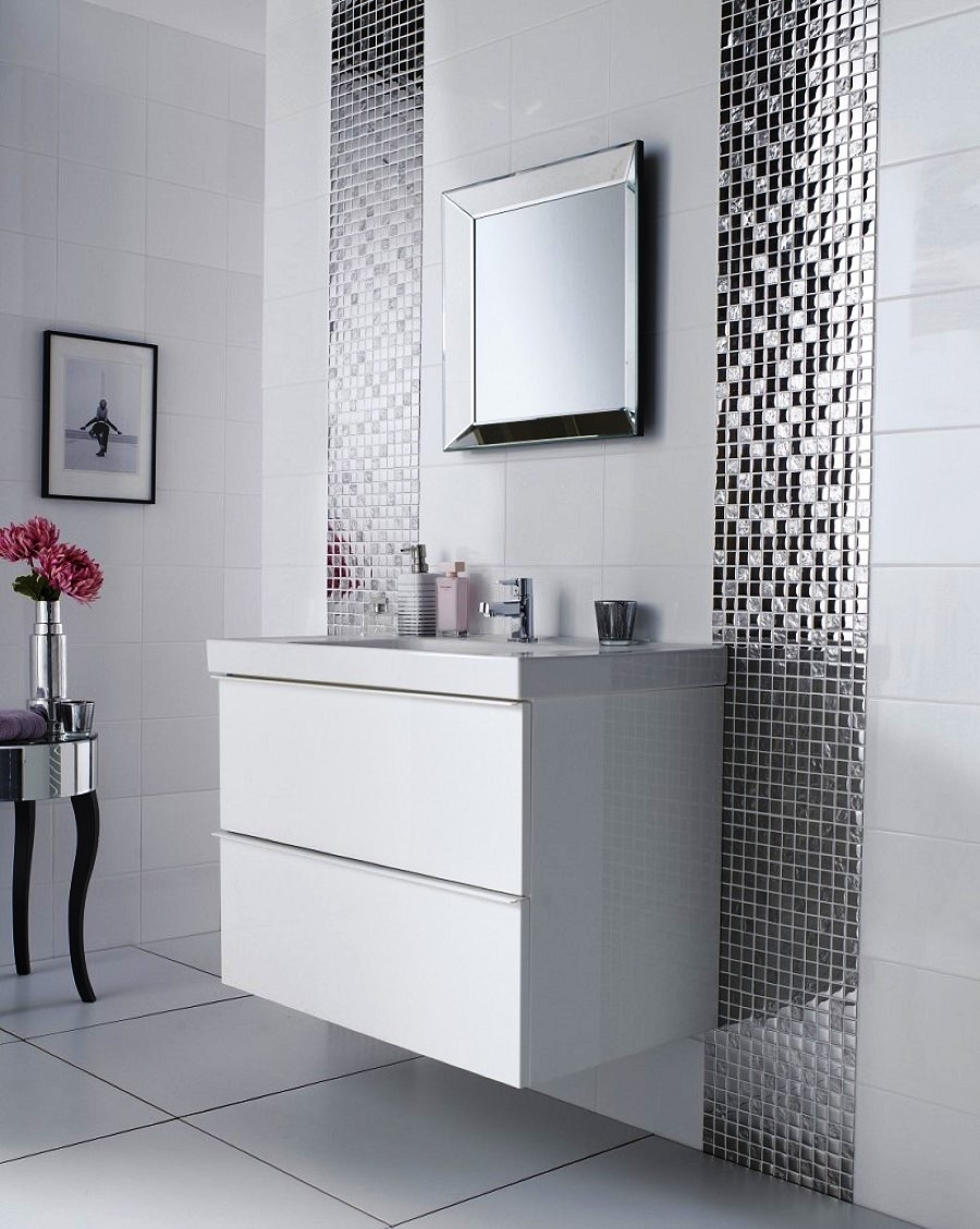 Bathroom Mirror Wall Tiles