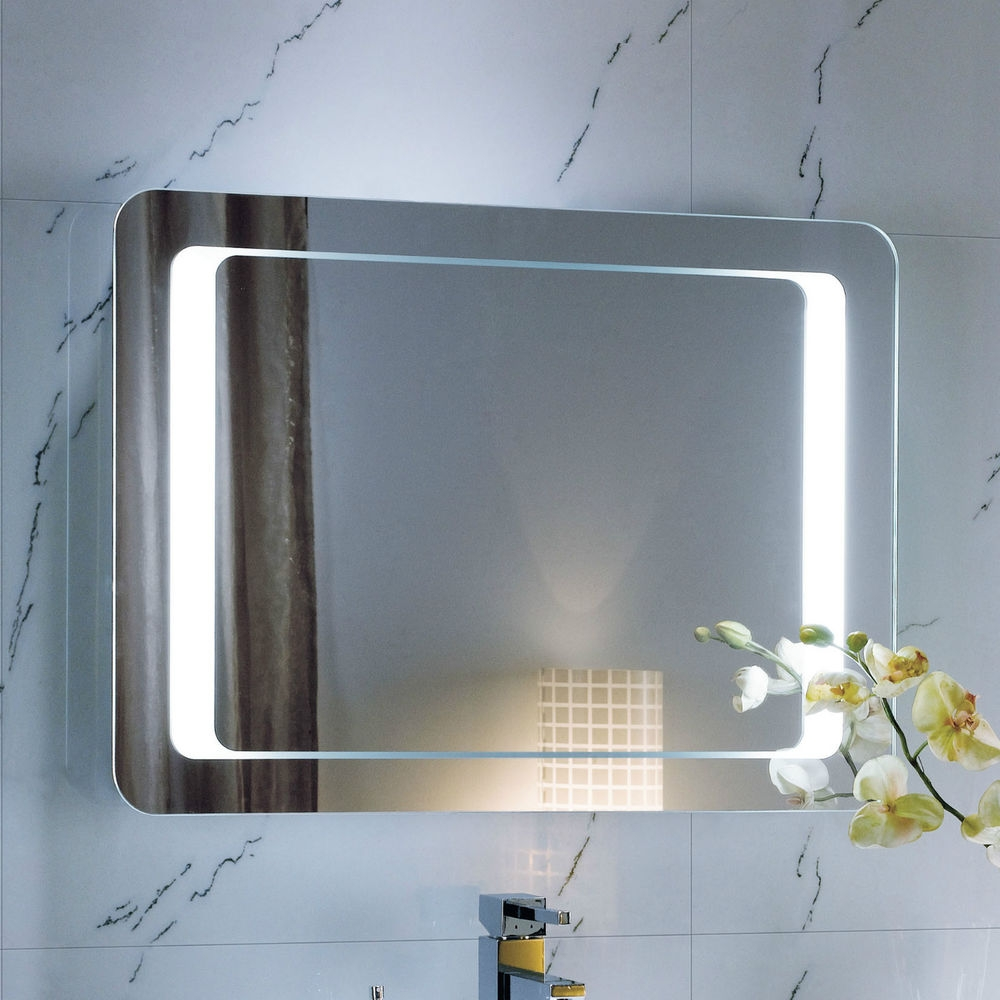 Bathroom Mirror With Battery Led Lights