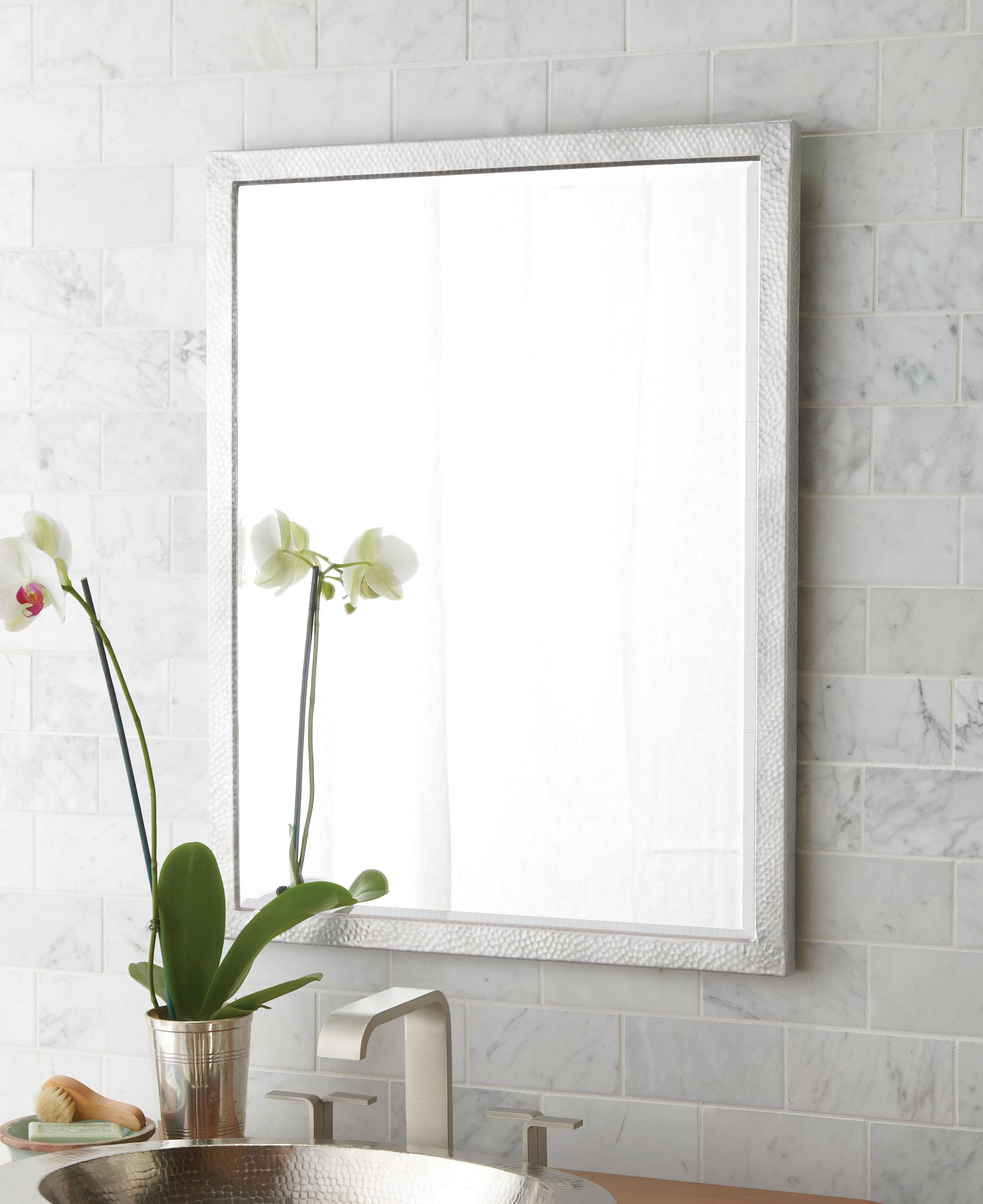 Bathroom Mirror With Chrome Frame