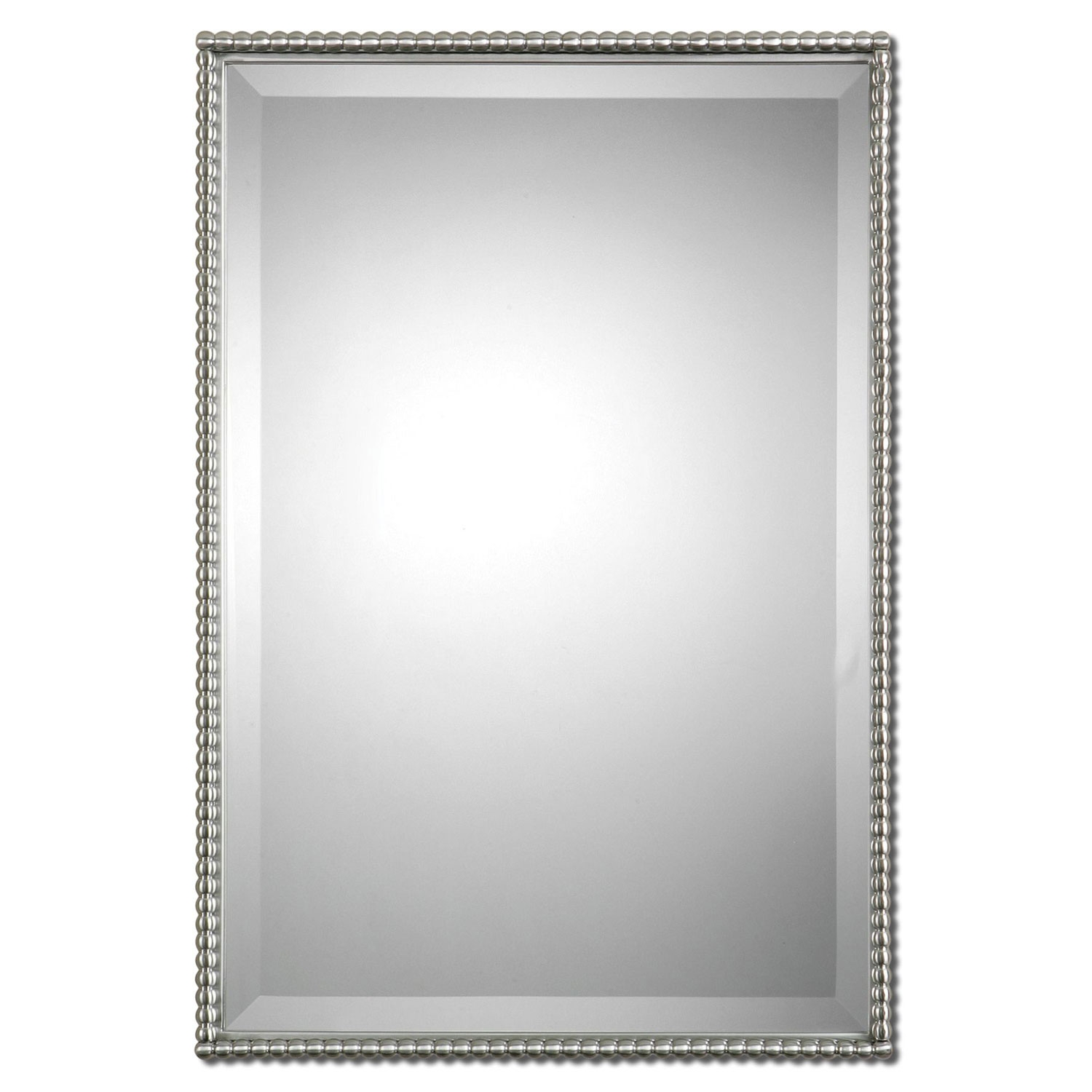 Bathroom Mirrors Brushed Nickel Frame
