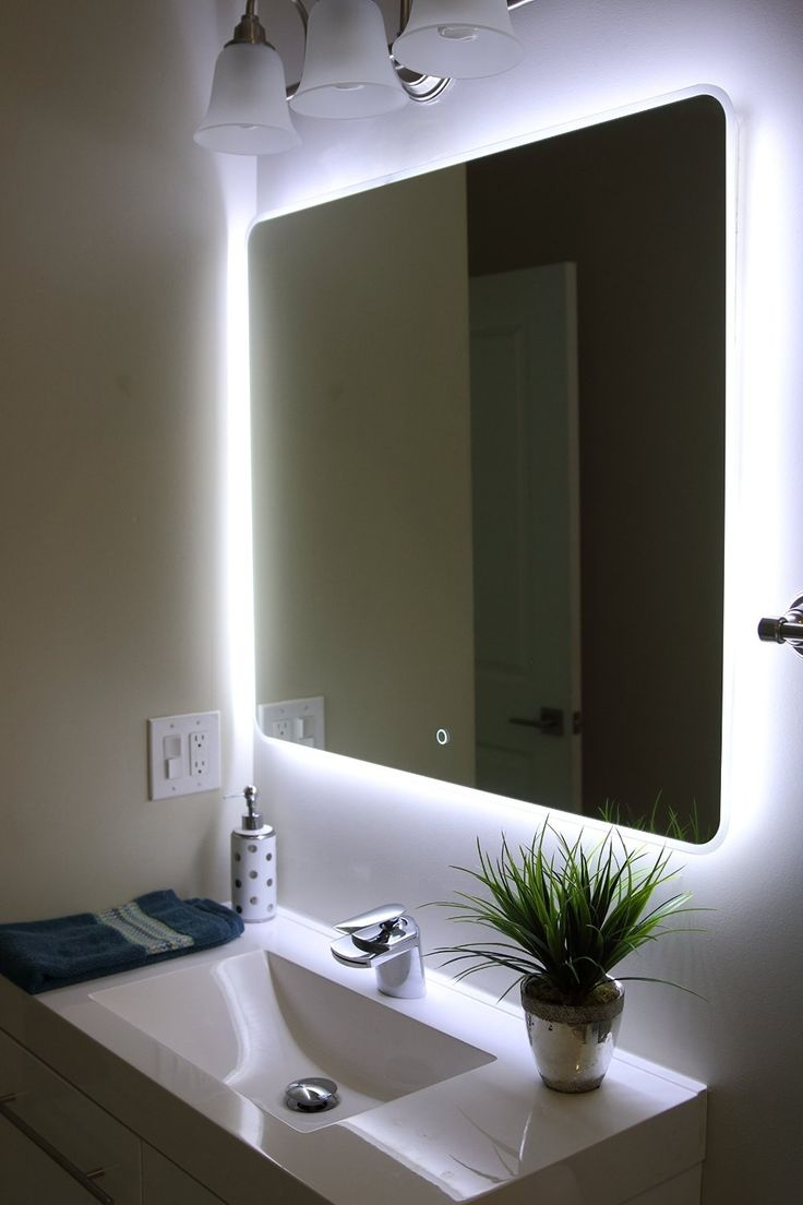 Permalink to Bathroom Mirrors Led Lights