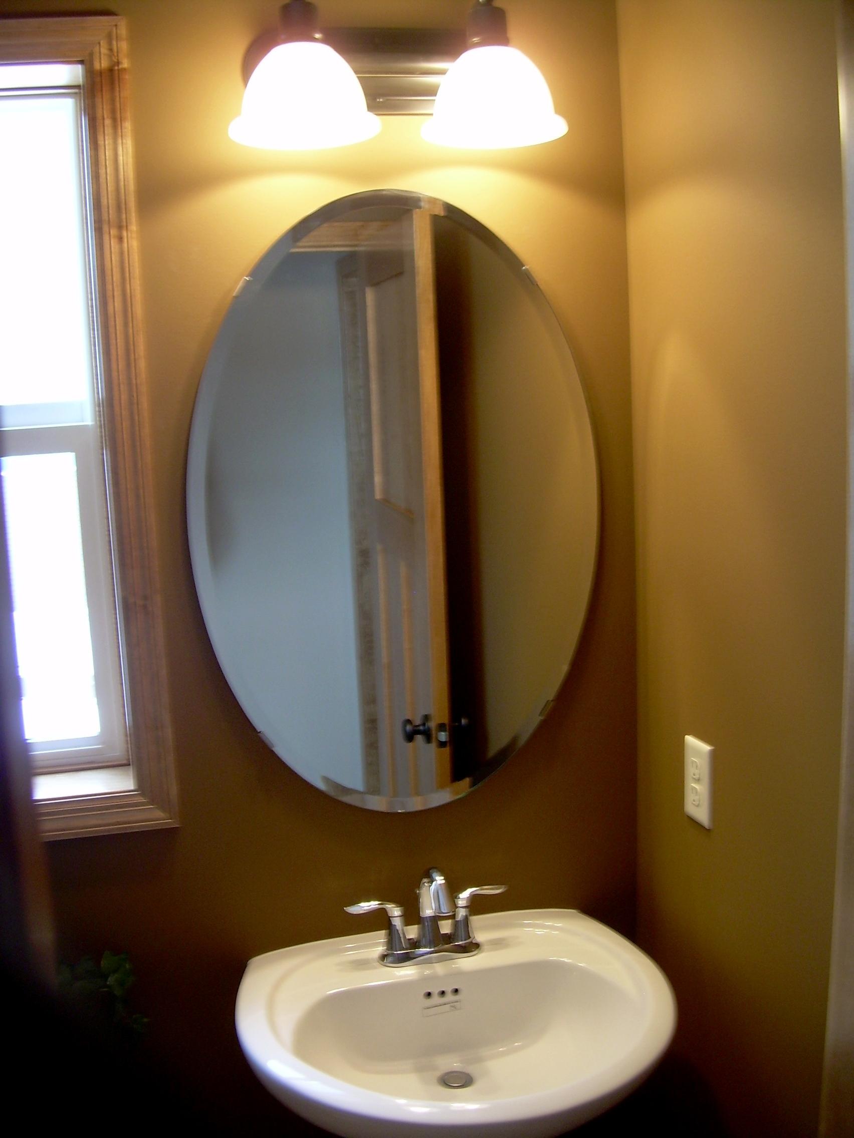 Bathroom Mirrors Oval Shape