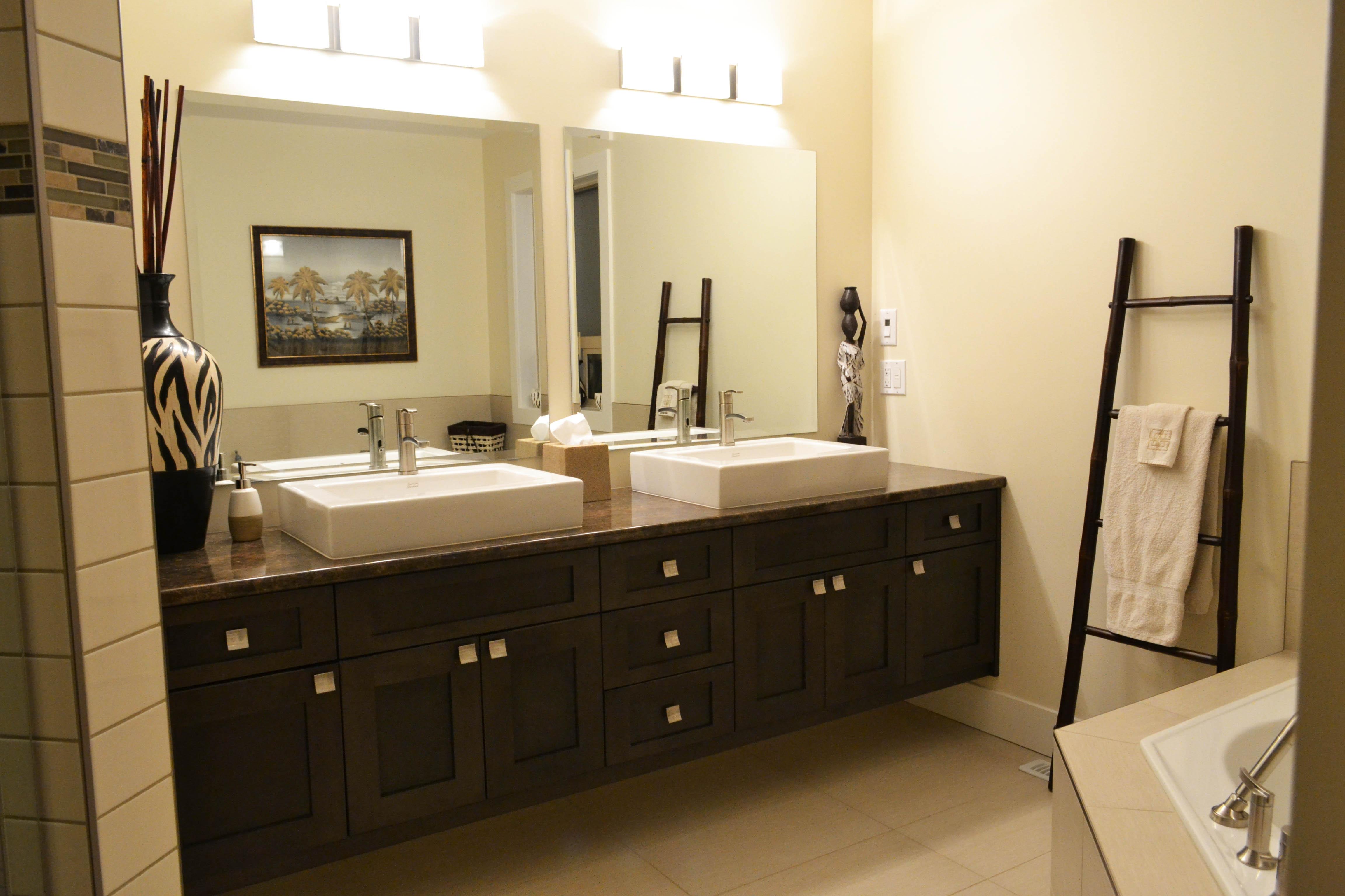 Permalink to Bathroom Mirrors Over Double Vanity