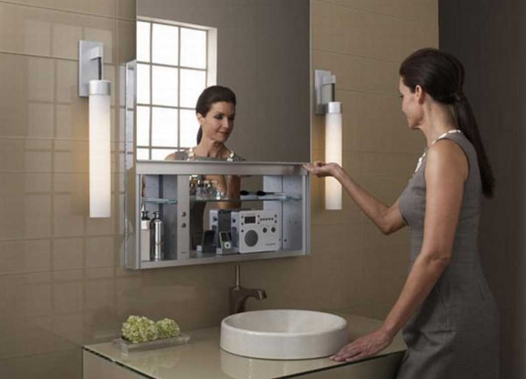 Bathroom Mirrors With Hidden Storage