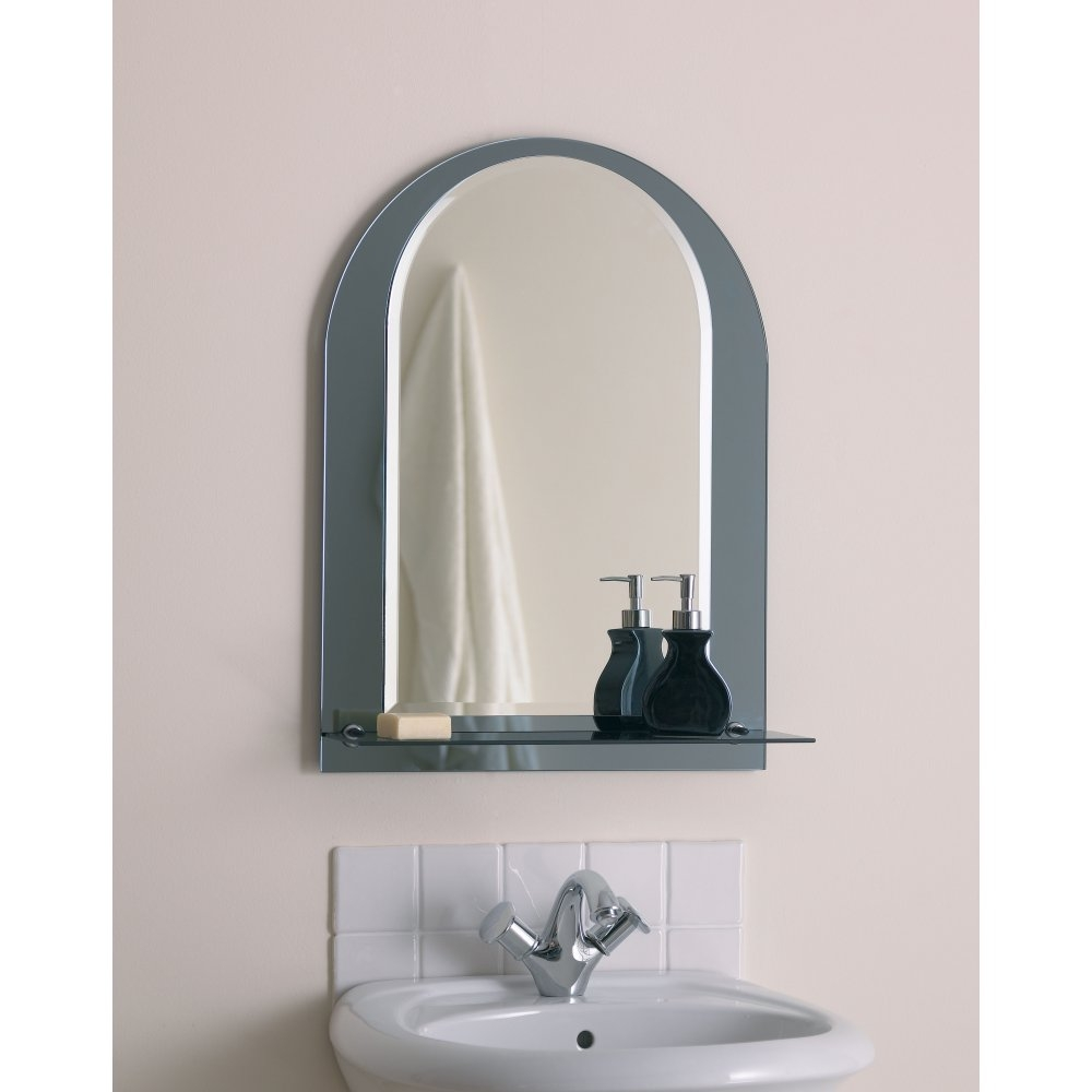 Bathroom Mirrors With Shelves And Lights