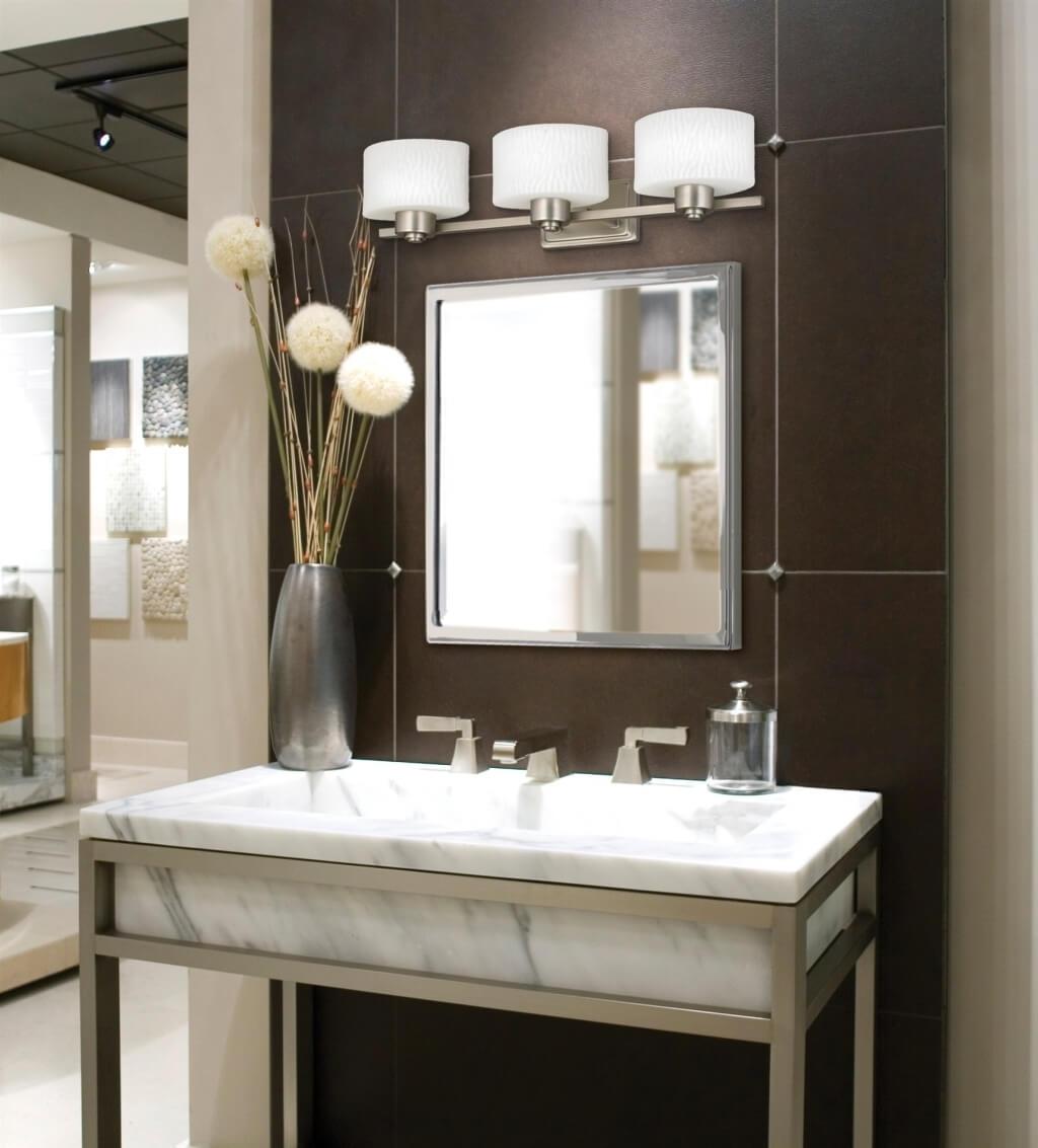 Bathroom Sconces Above Mirror
