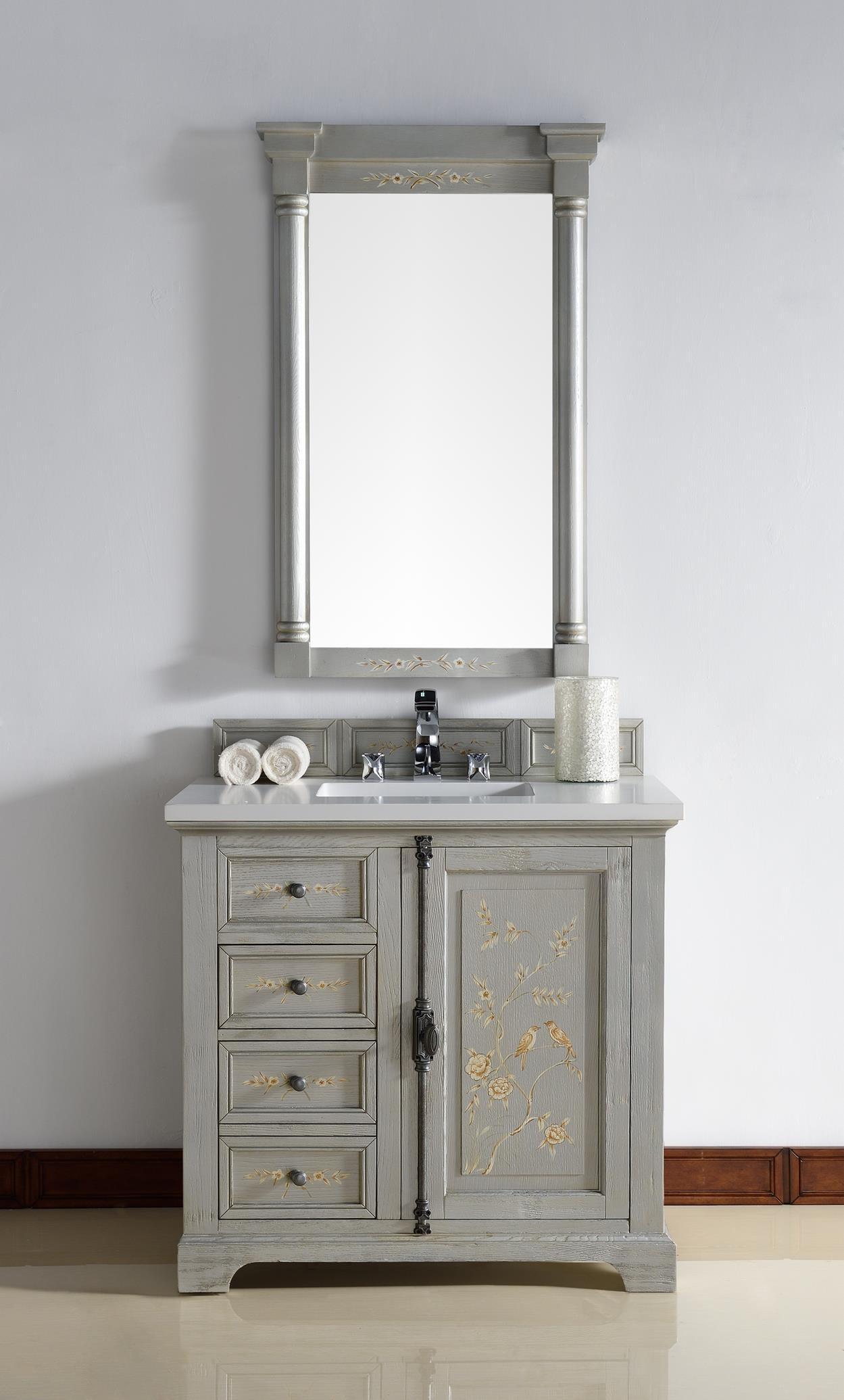 Bathroom Vanities And Matching Mirrors
