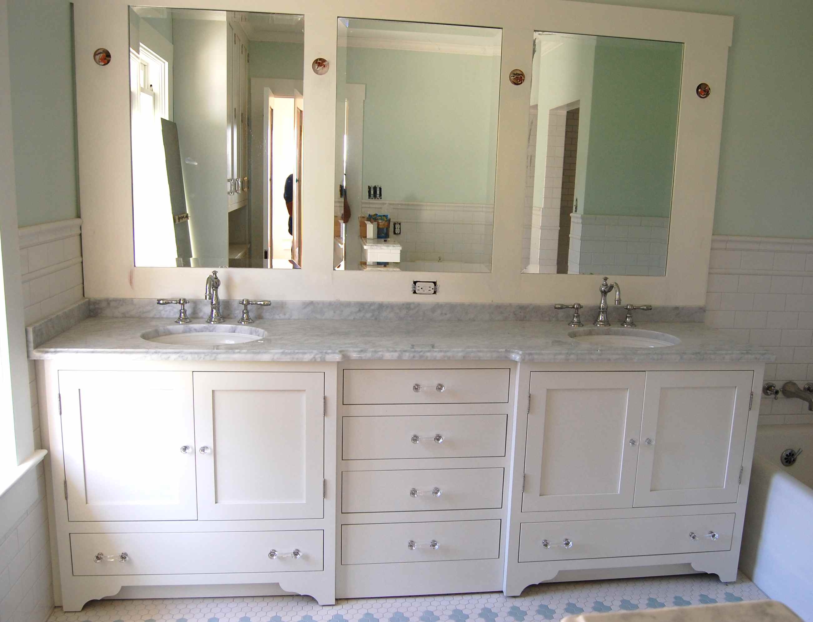 Permalink to Bathroom Vanity Cabinets And Mirrors