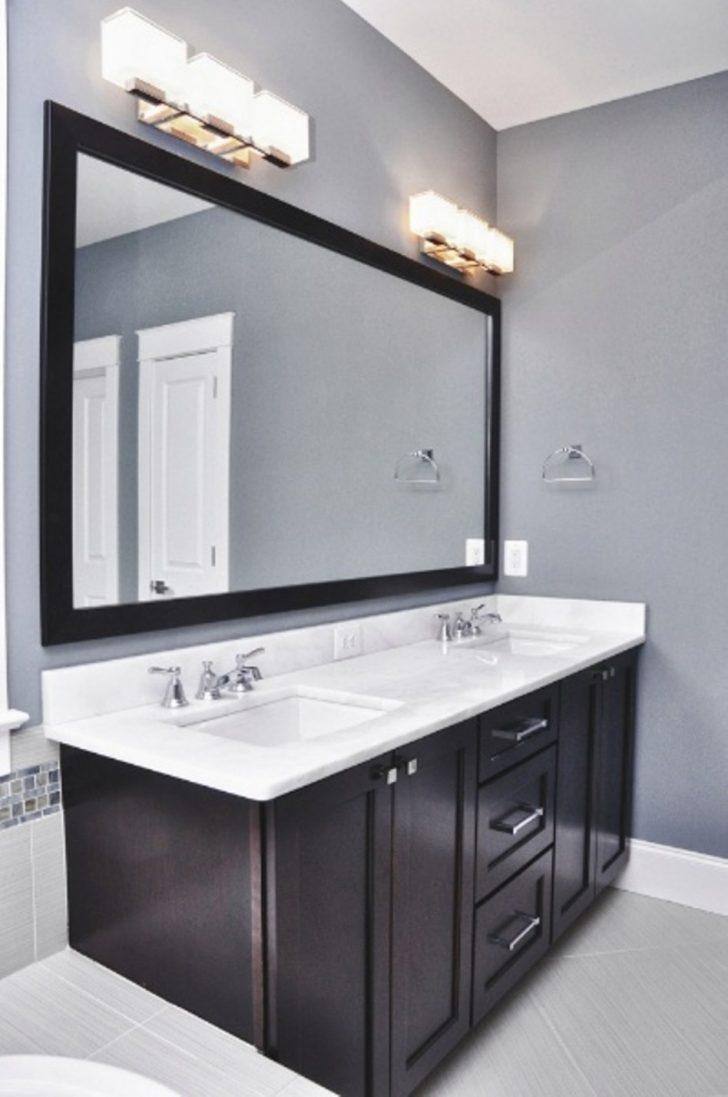 Bathroom Vanity Light Height Above Mirror