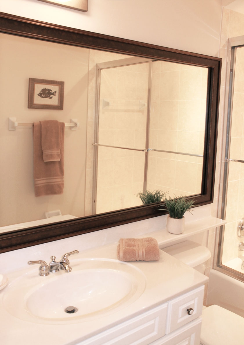 Bathroom Vanity Mirror Trim