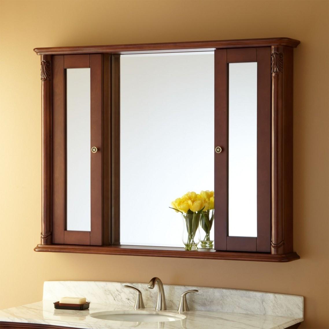 Bathroom Vanity Mirror With Shelves