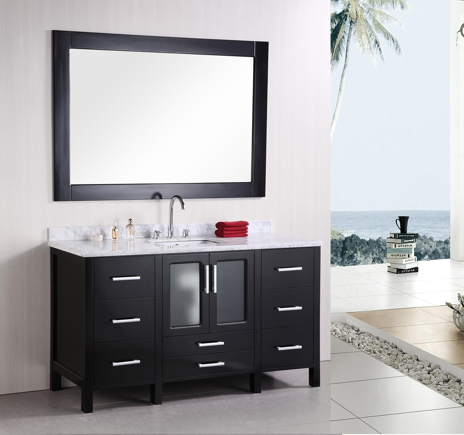 Bathroom Vanity Mirrors And Cabinets