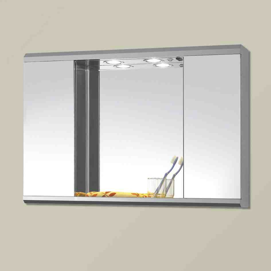 Bathroom Wall Cabinet With Mirror