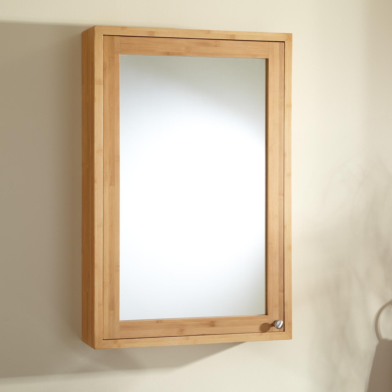 Bathroom Wooden Mirror Cabinets