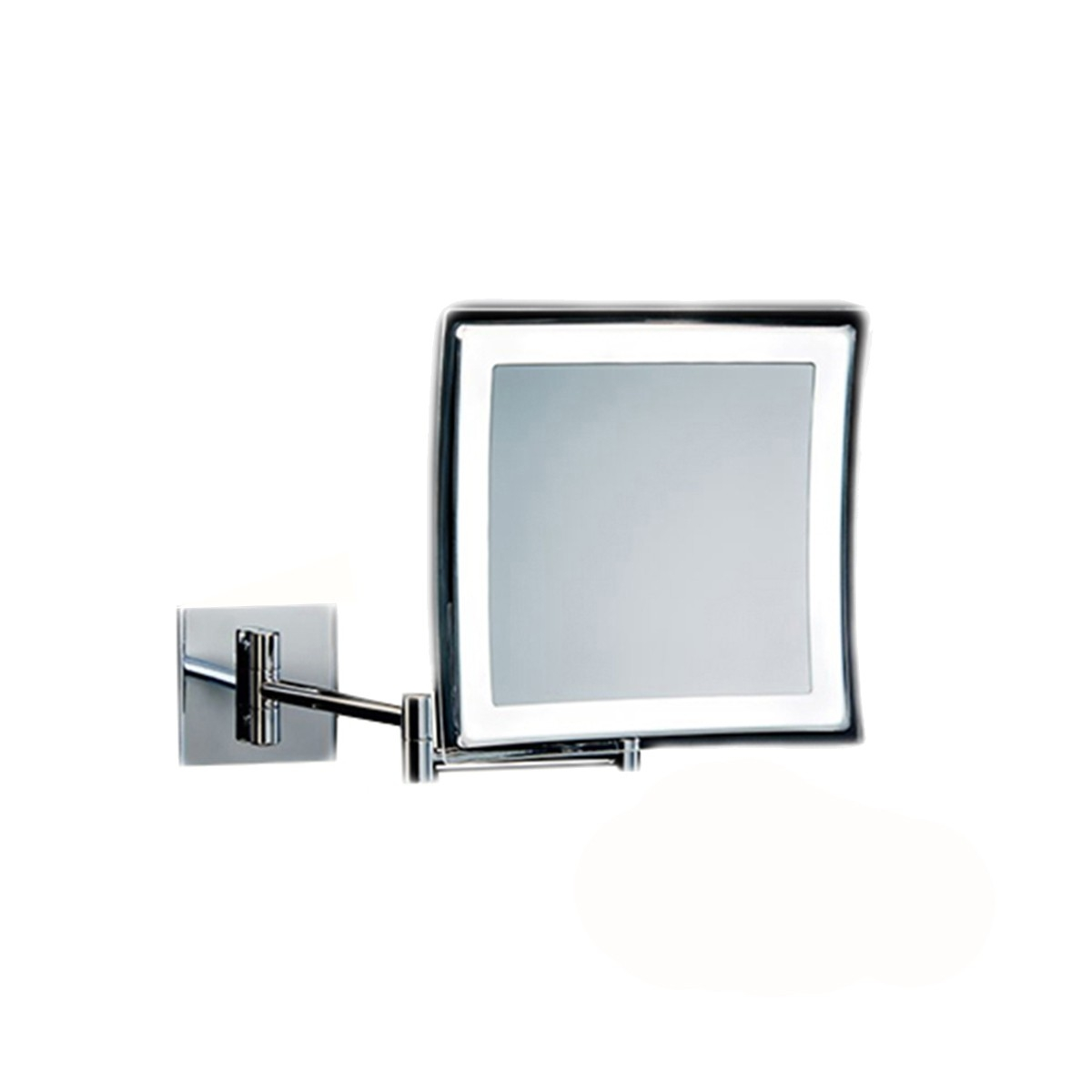 Battery Operated Magnifying Bathroom Mirror