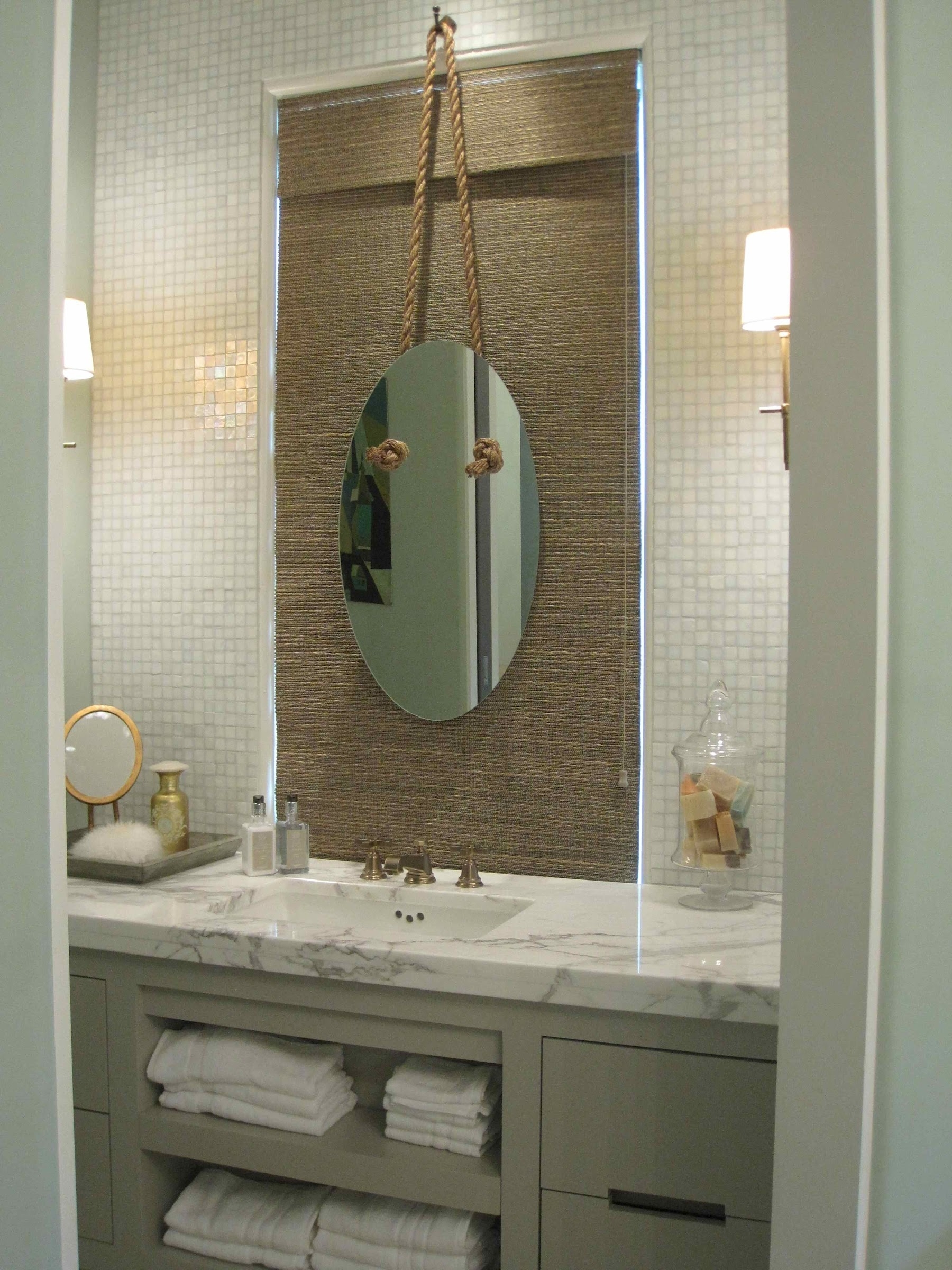 Beach Cottage Bathroom Mirrors