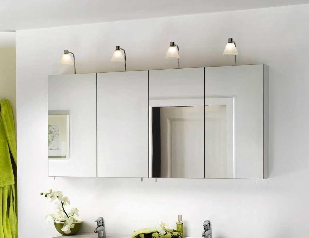 Big Mirror Bathroom Cabinet