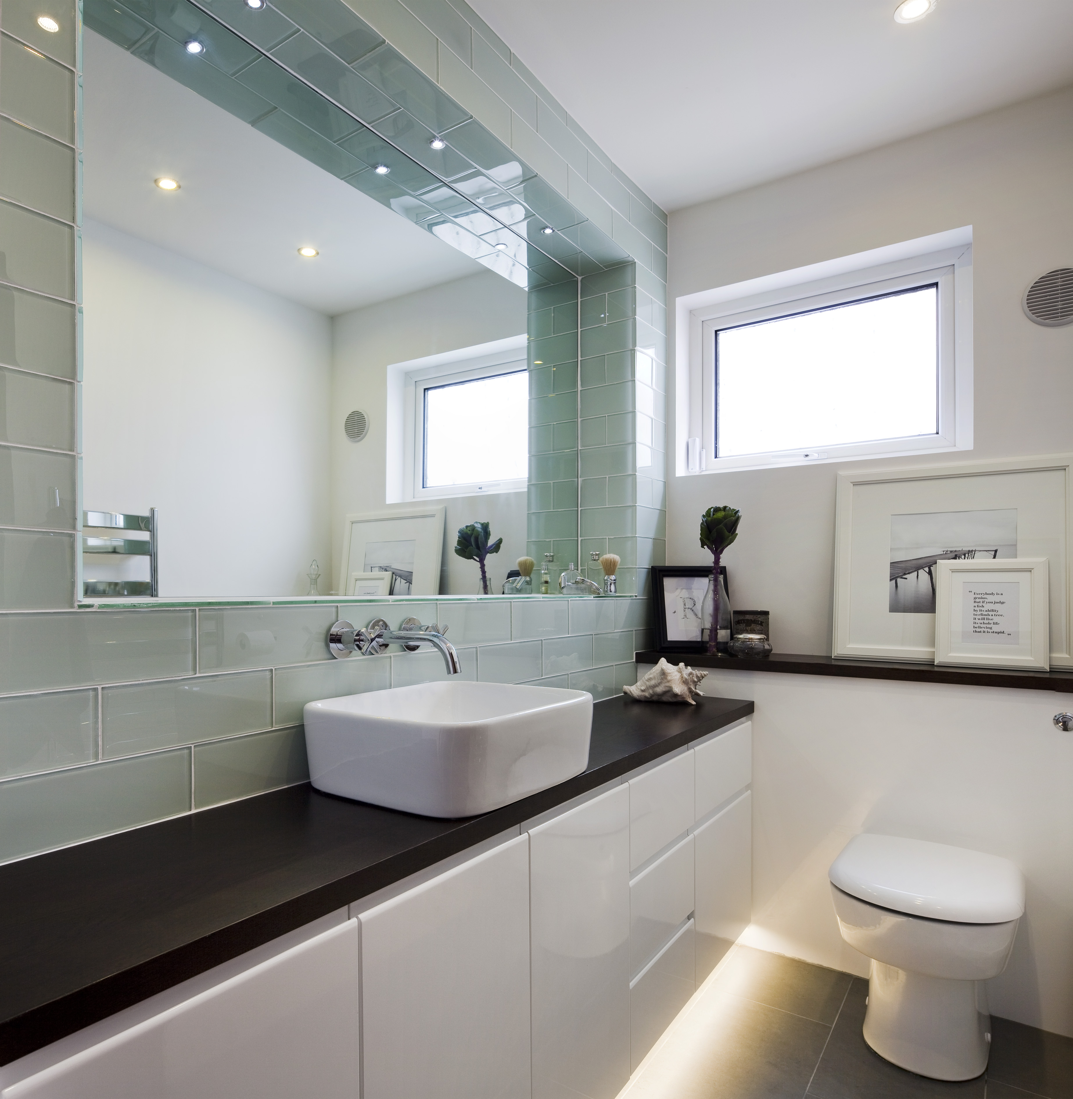 Big Mirror Small Bathroom