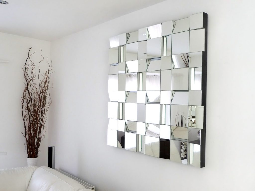 Big Square Wall Mirror