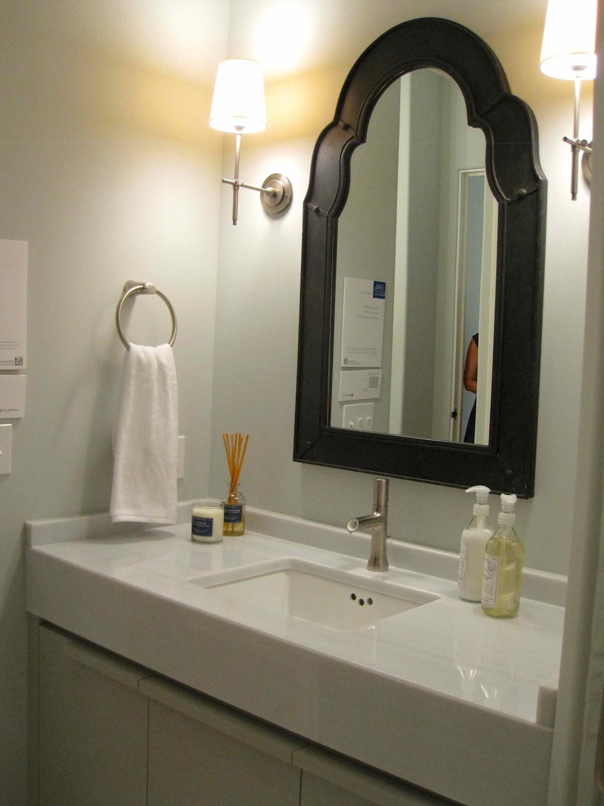 Black Bathroom Wall Mirrors