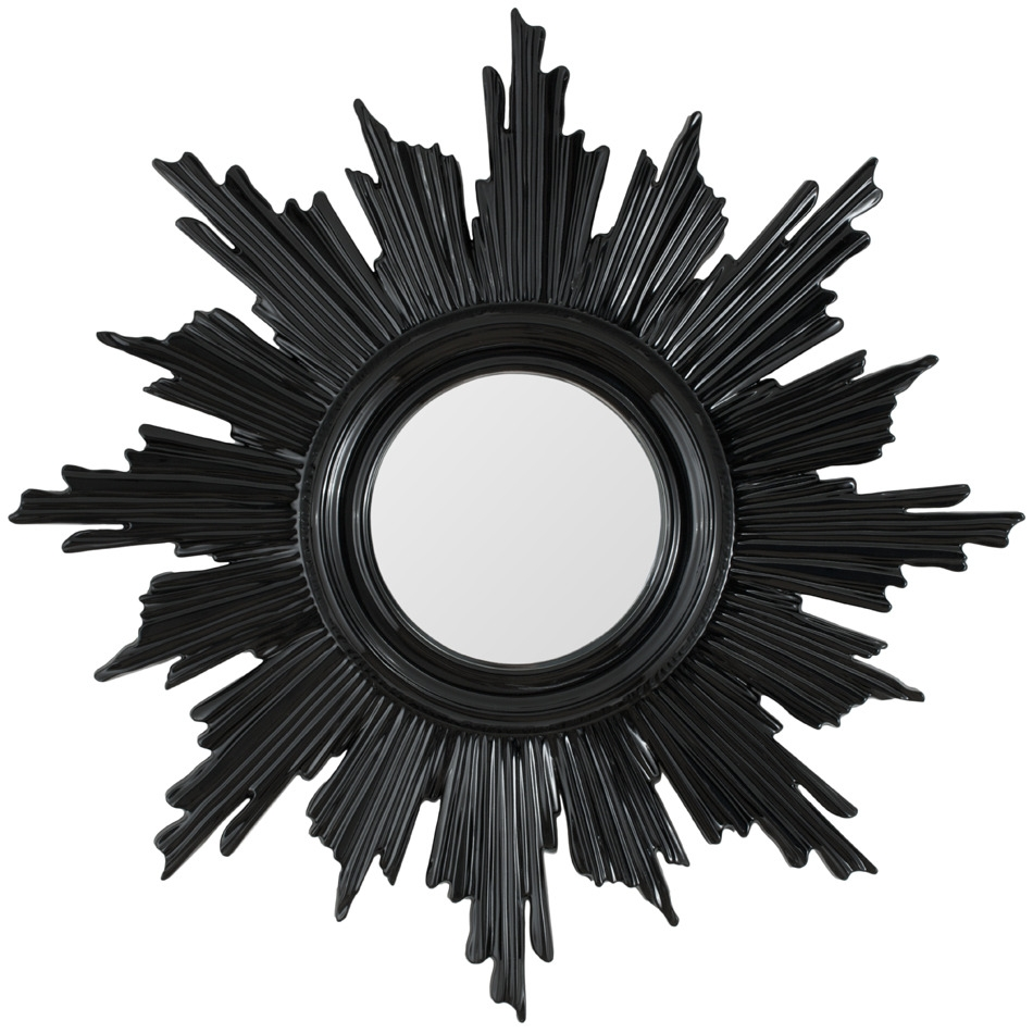 Black Wall Mirrors Decorative