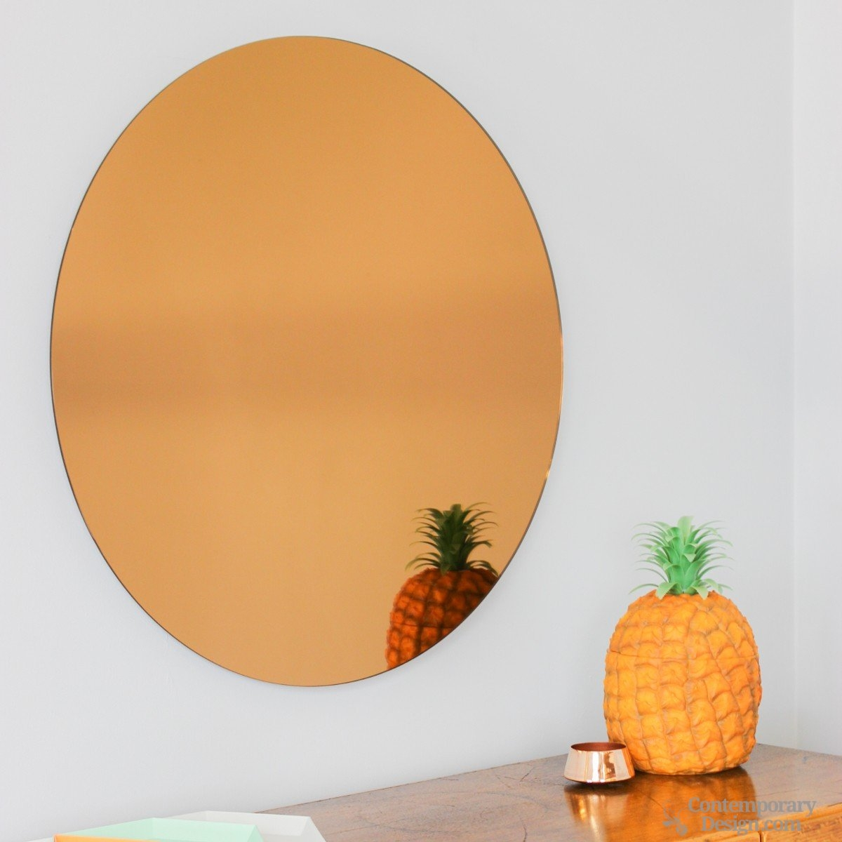 Bloomingville Copper Wall Mirror