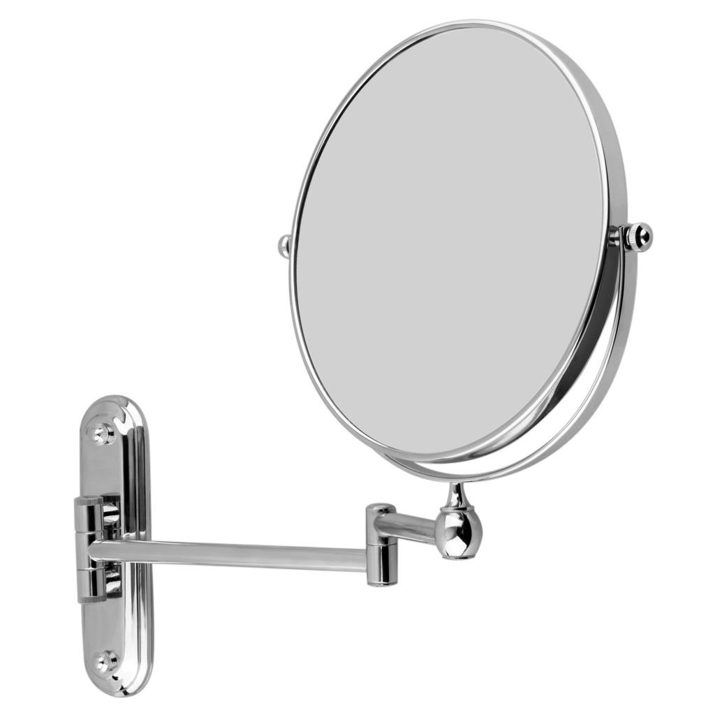 Brass Extending Bathroom Mirror