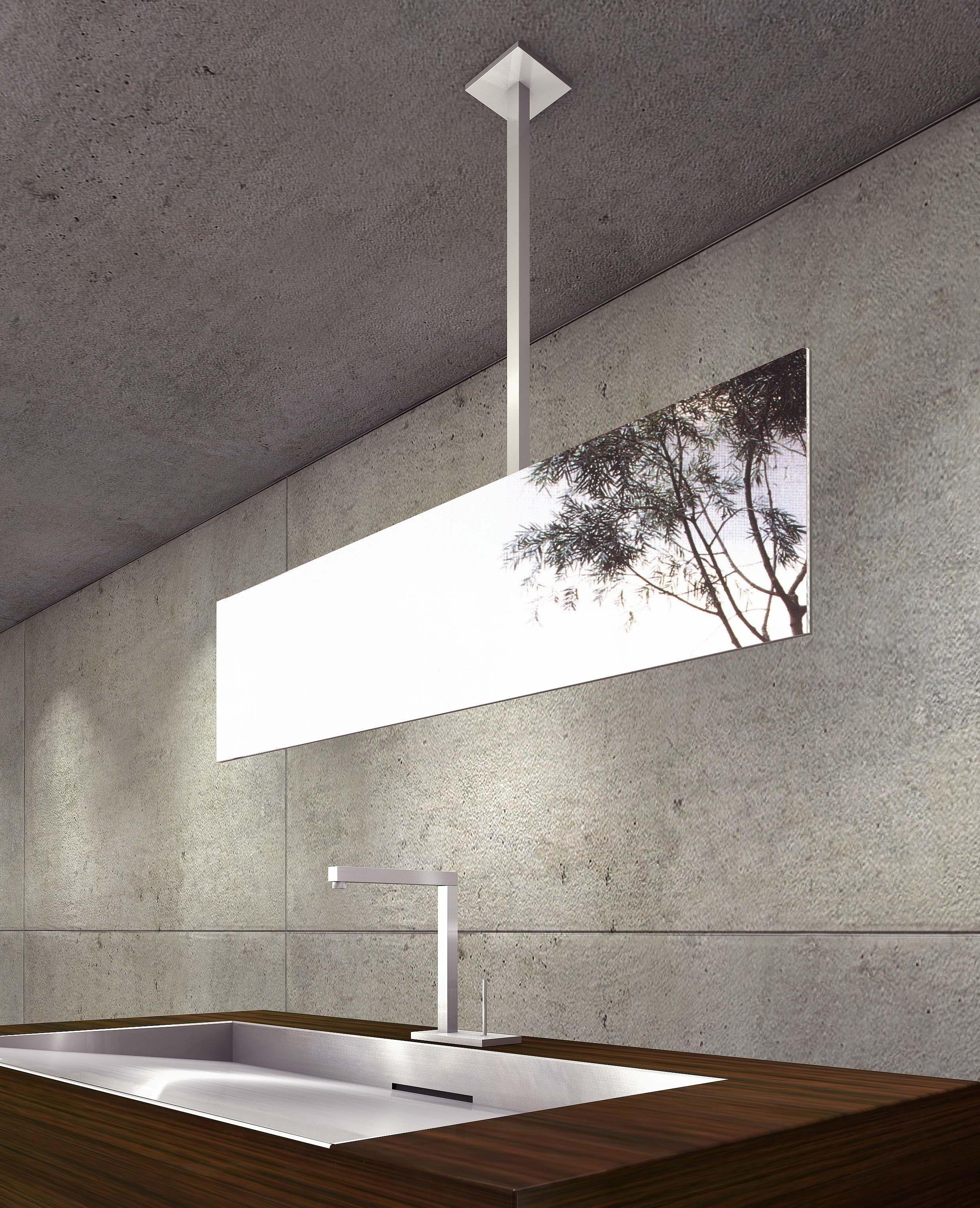 Ceiling Mounted Bathroom Mirrors