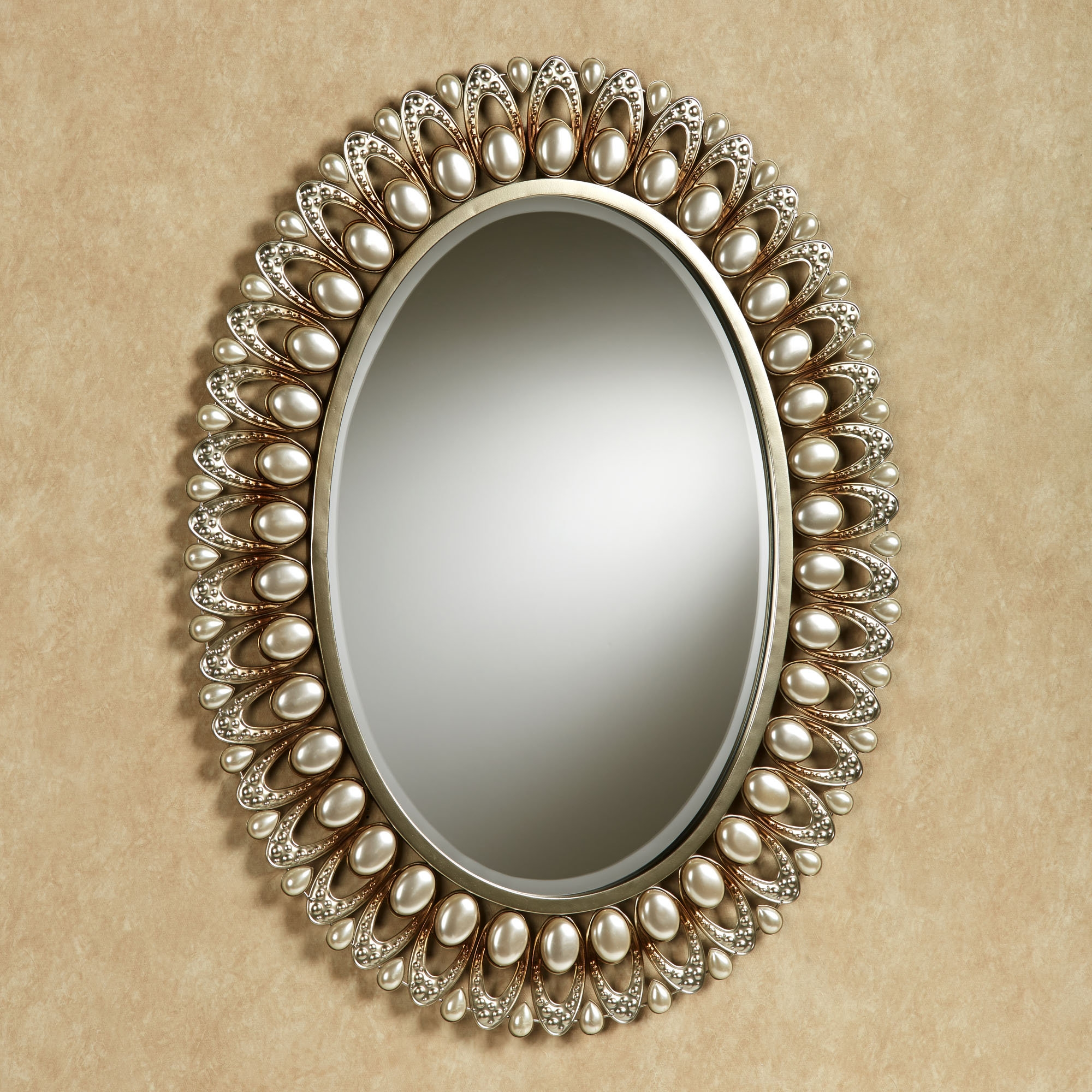 Champagne Colour Wall Mirror