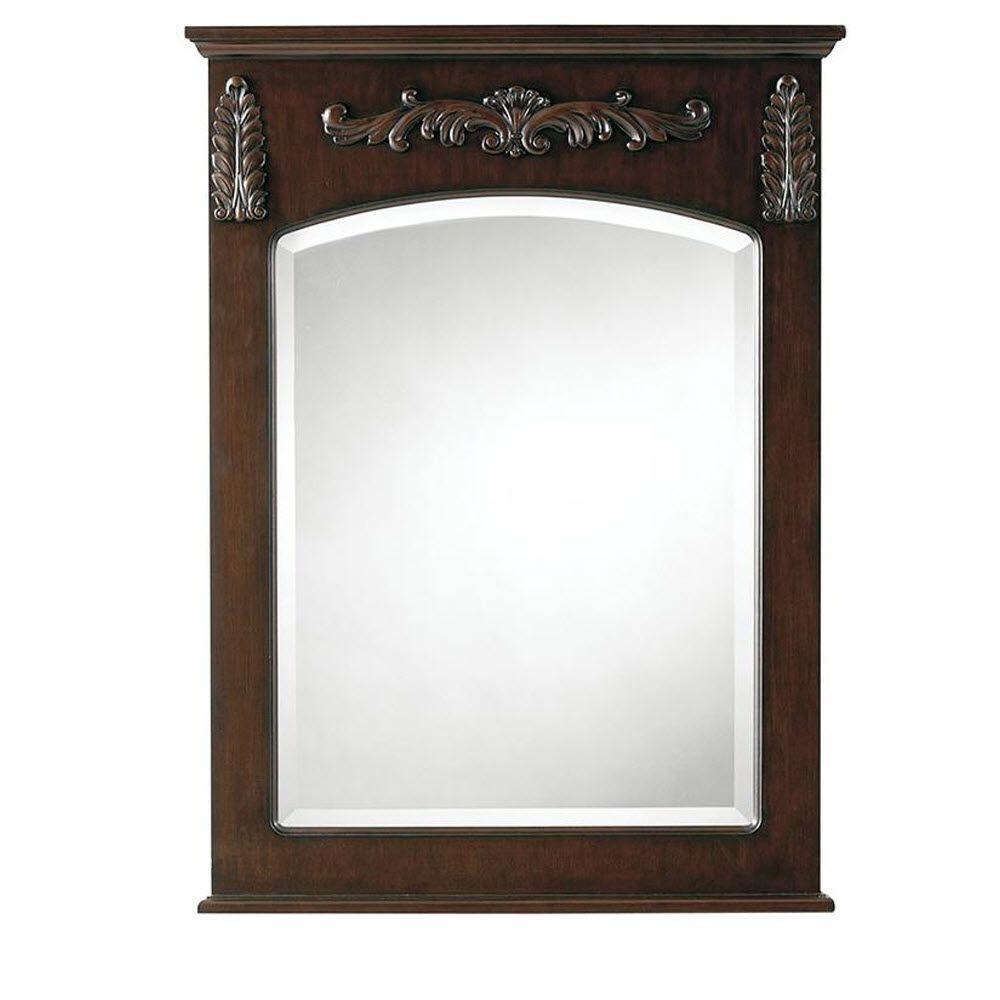 Cherry Wood Wall Mirror