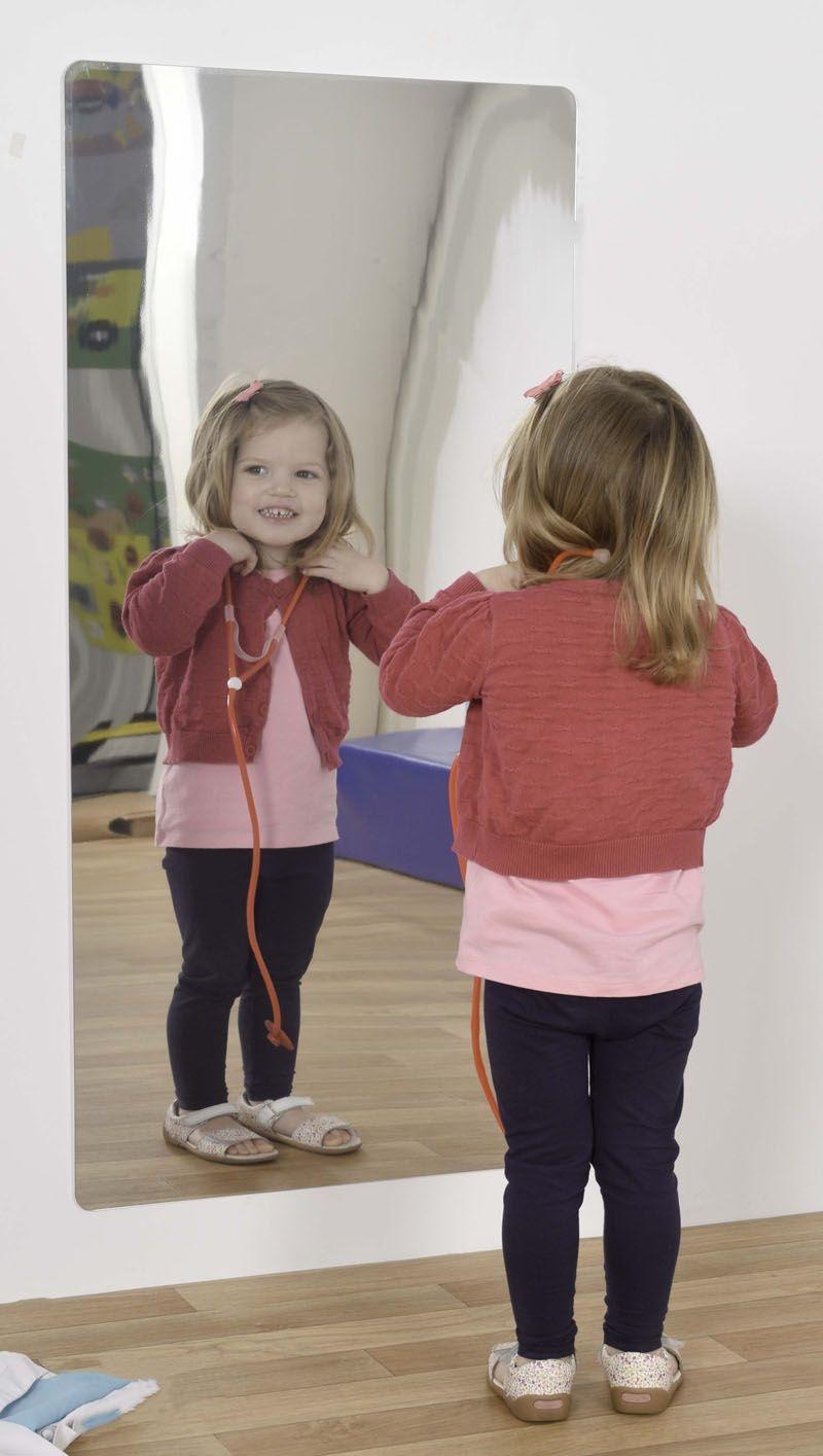 Child Safe Wall Mirror