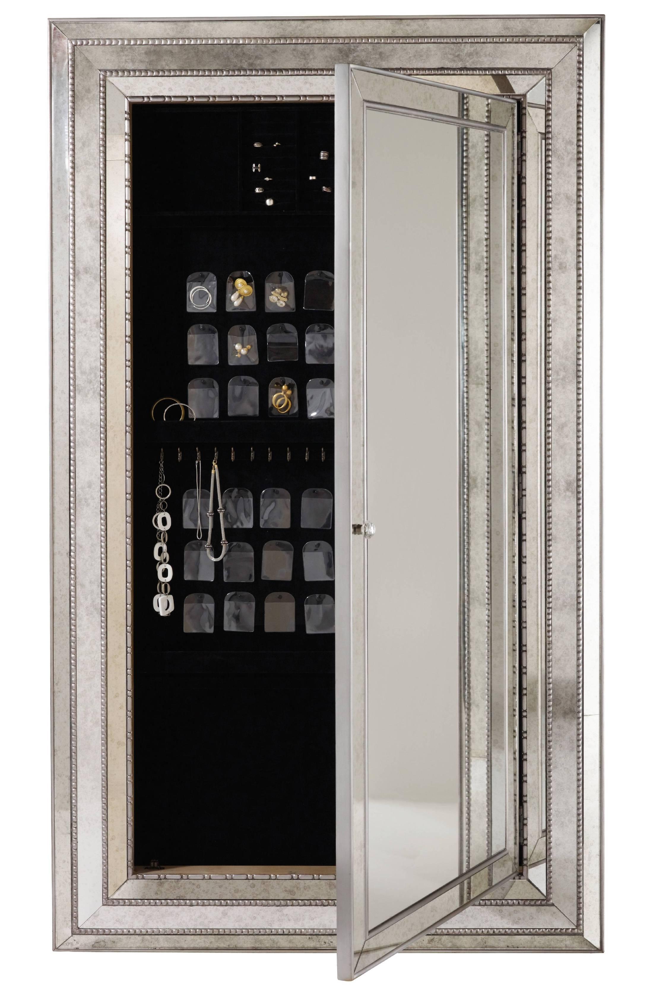 Chloe Wall Mirror Jewelry Storage