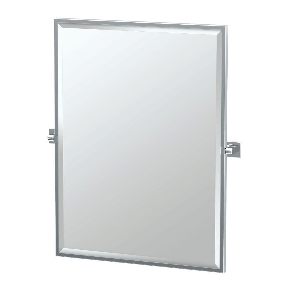 Chrome Bathroom Mirror Frames