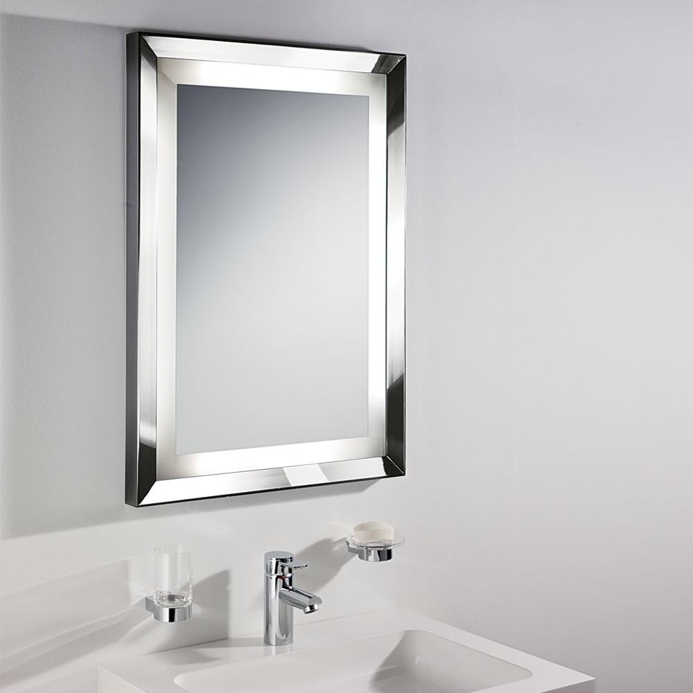 Chrome Bathroom Mirror Trim