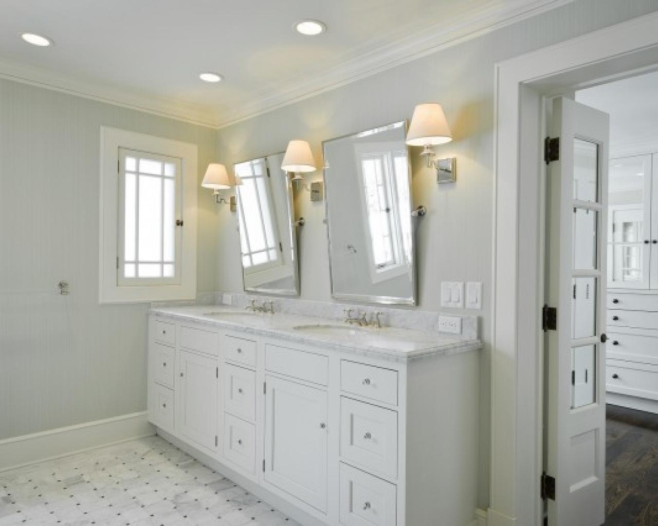 Chrome Vanity Mirrors Bathroom