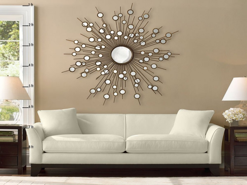Circle Mirror Wall Decor