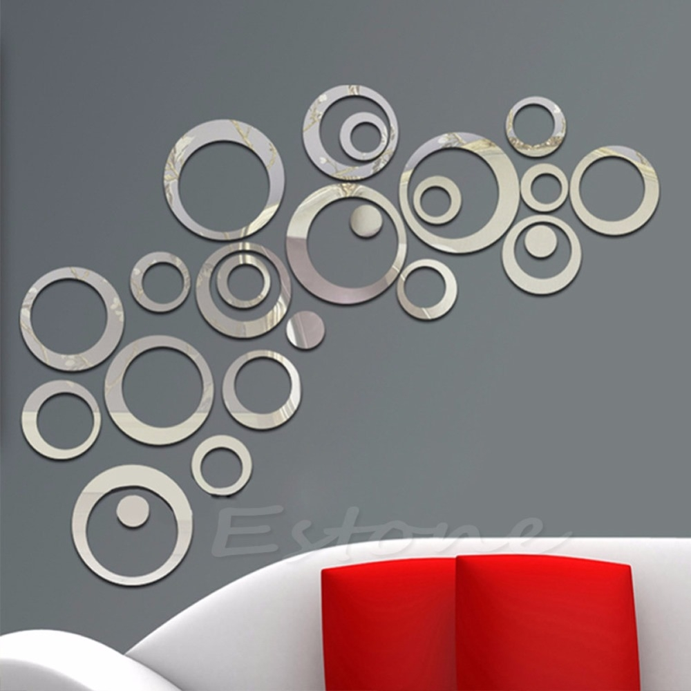 Circle Mirrors Wall Art Circle Mirrors Wall Art mirrored circles wall decor 87 cute interior and large round 1000 X 1000