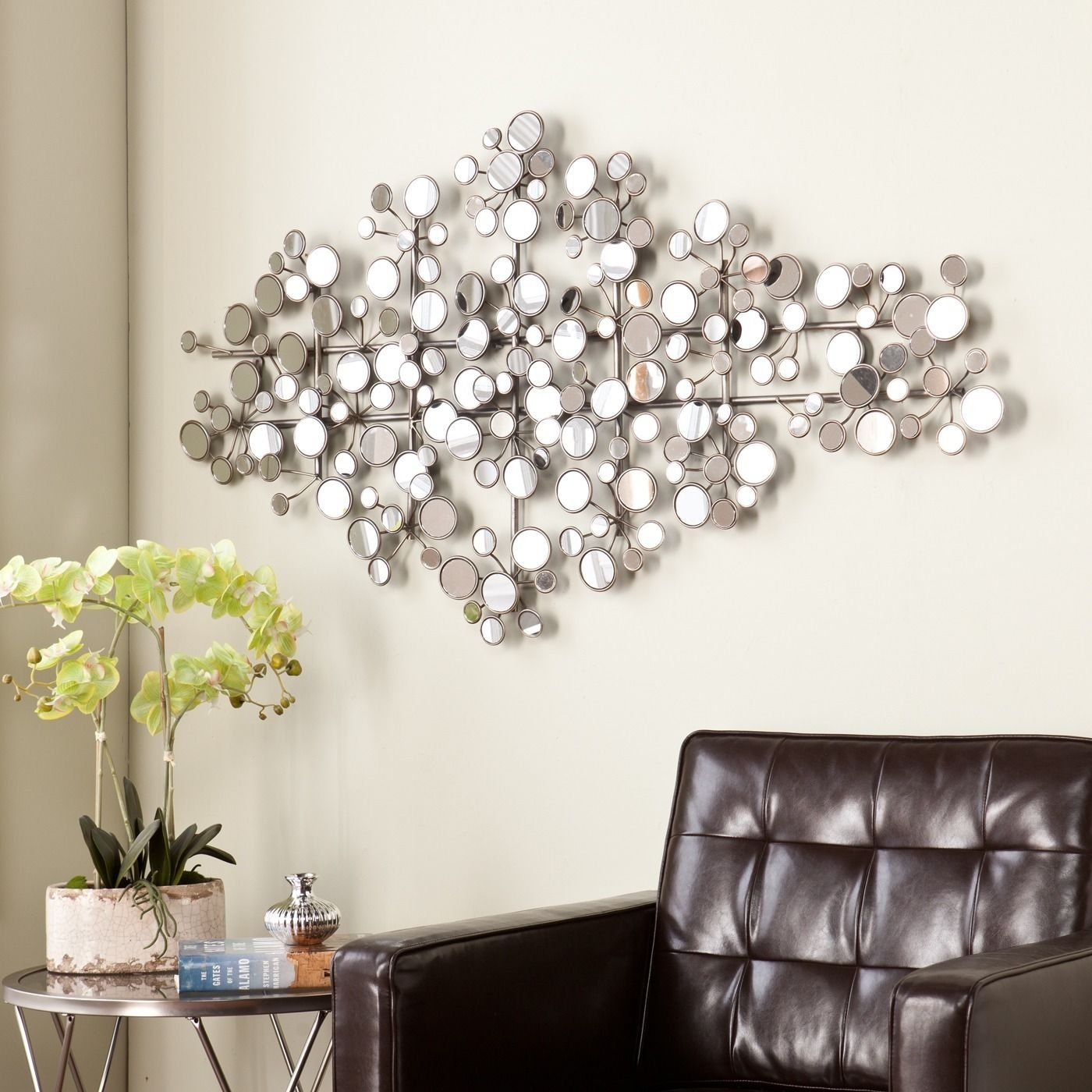 Circles Geometric Wall Mirror
