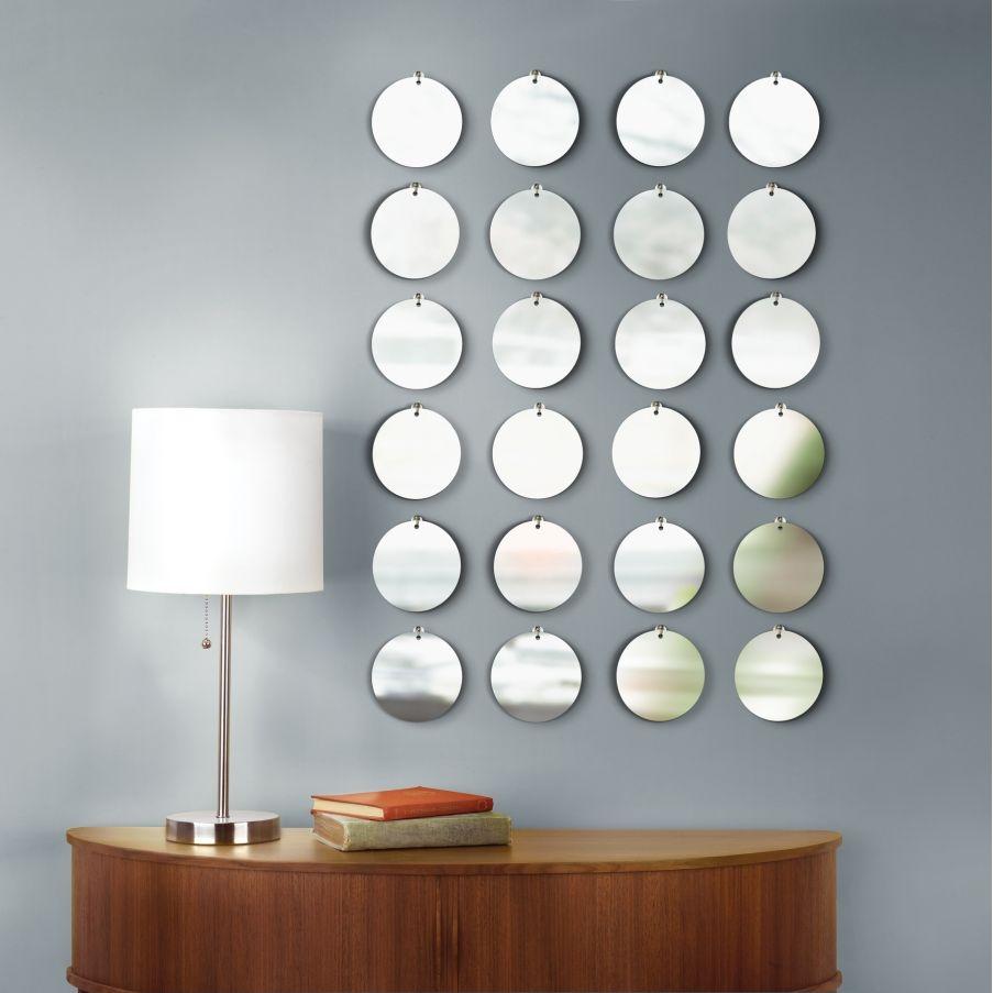 Circular Mirror Wall Art