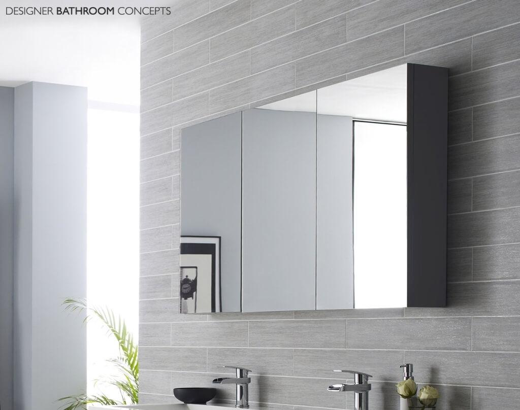 Contemporary Bathroom Mirror Cabinet