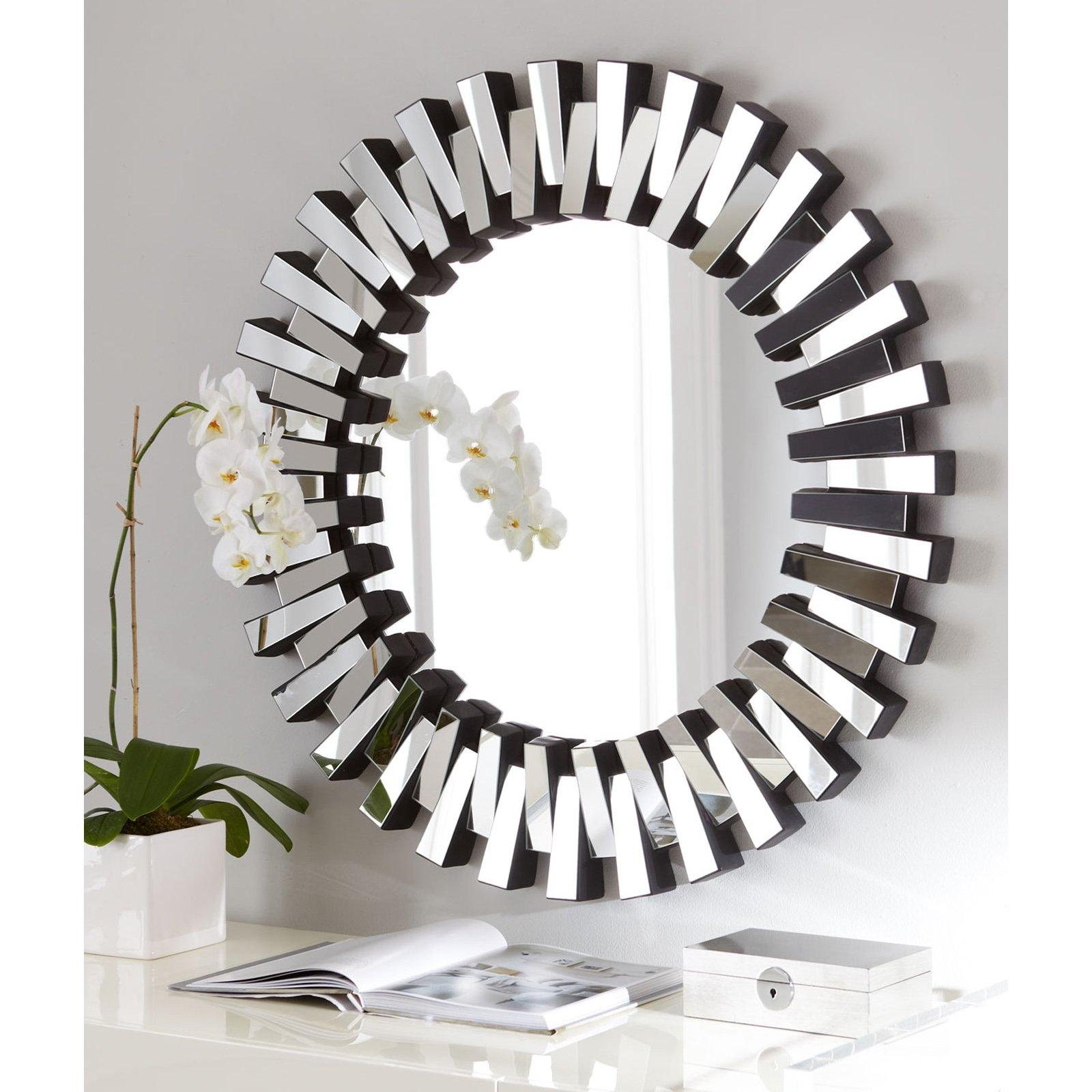 Contemporary Round Mirrors For Walls