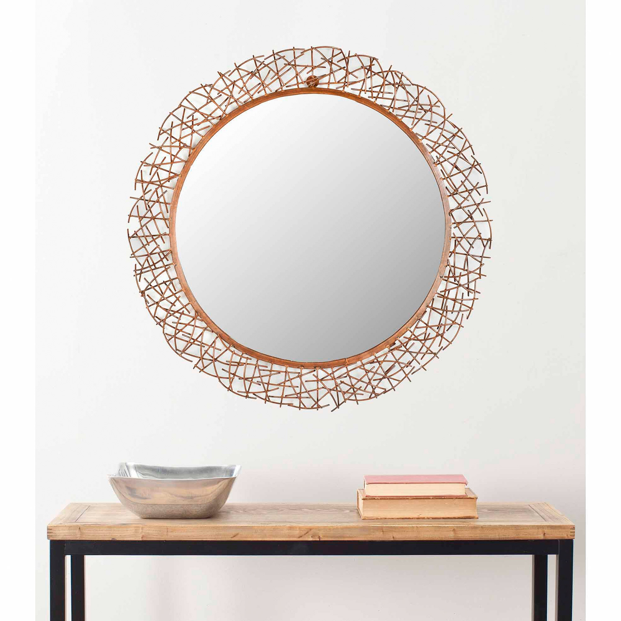 Copper Coloured Wall Mirrors