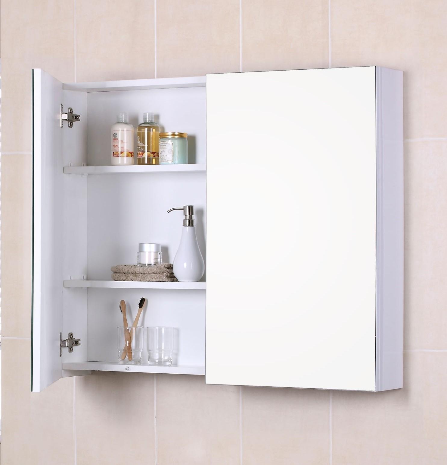 Corner Bathroom Cabinet No Mirror